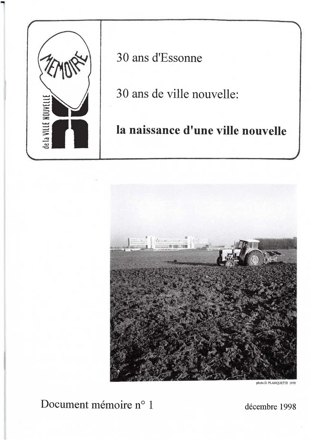 Document mémoire n°1 (1999)