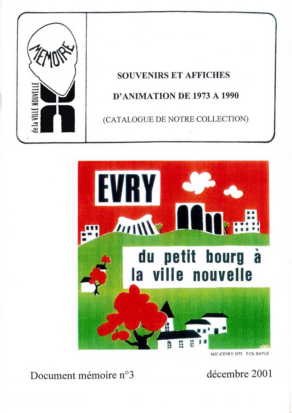 Document mémoire n°3 (2001)