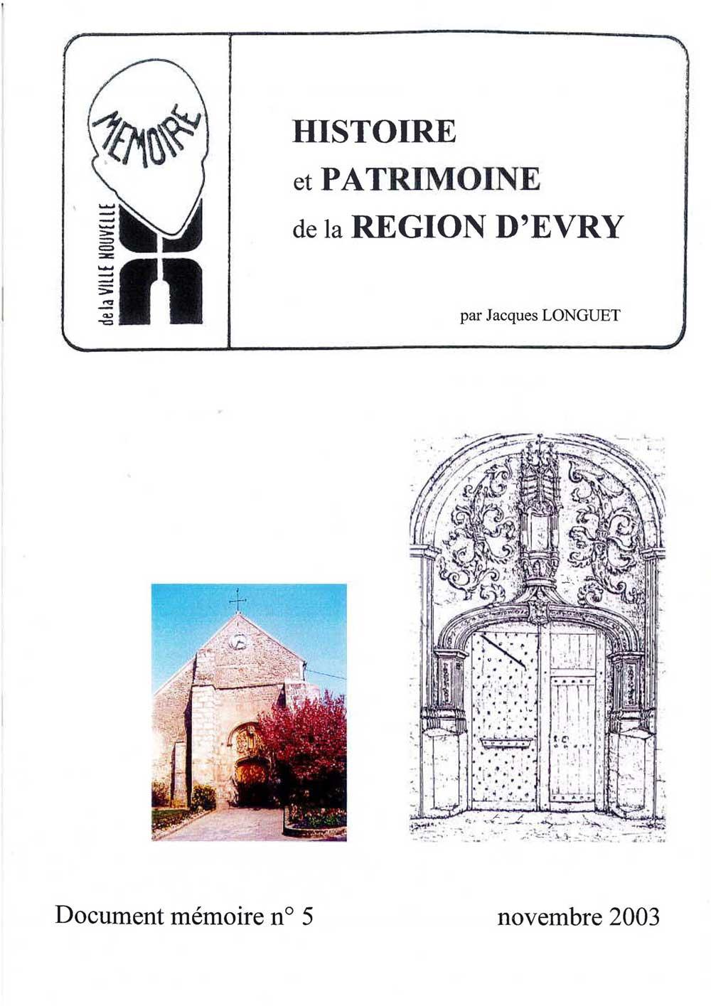 Document mémoire n°5 (2003)